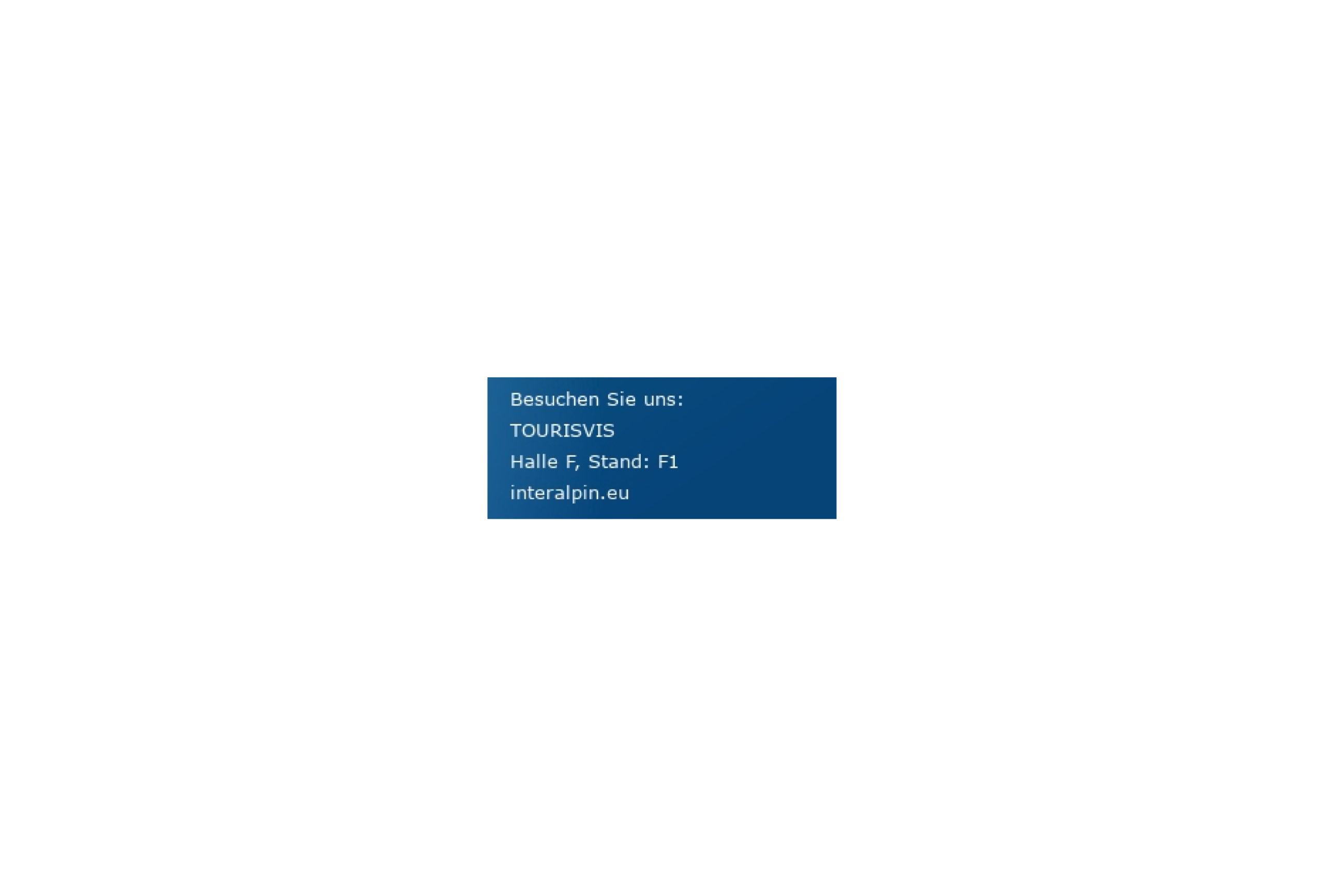 Tourisvis Interalpin 2019 Stand Innsbruck
