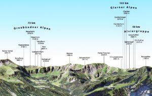3D Gipfelpanorama Bergstation Baumgarten Sued Ausschnitt