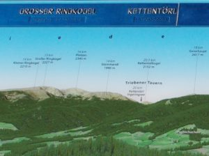 3D Gipfelpanorama Grosser Ringkogel Ausschnitt