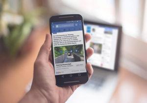 Infotrailer social media motas