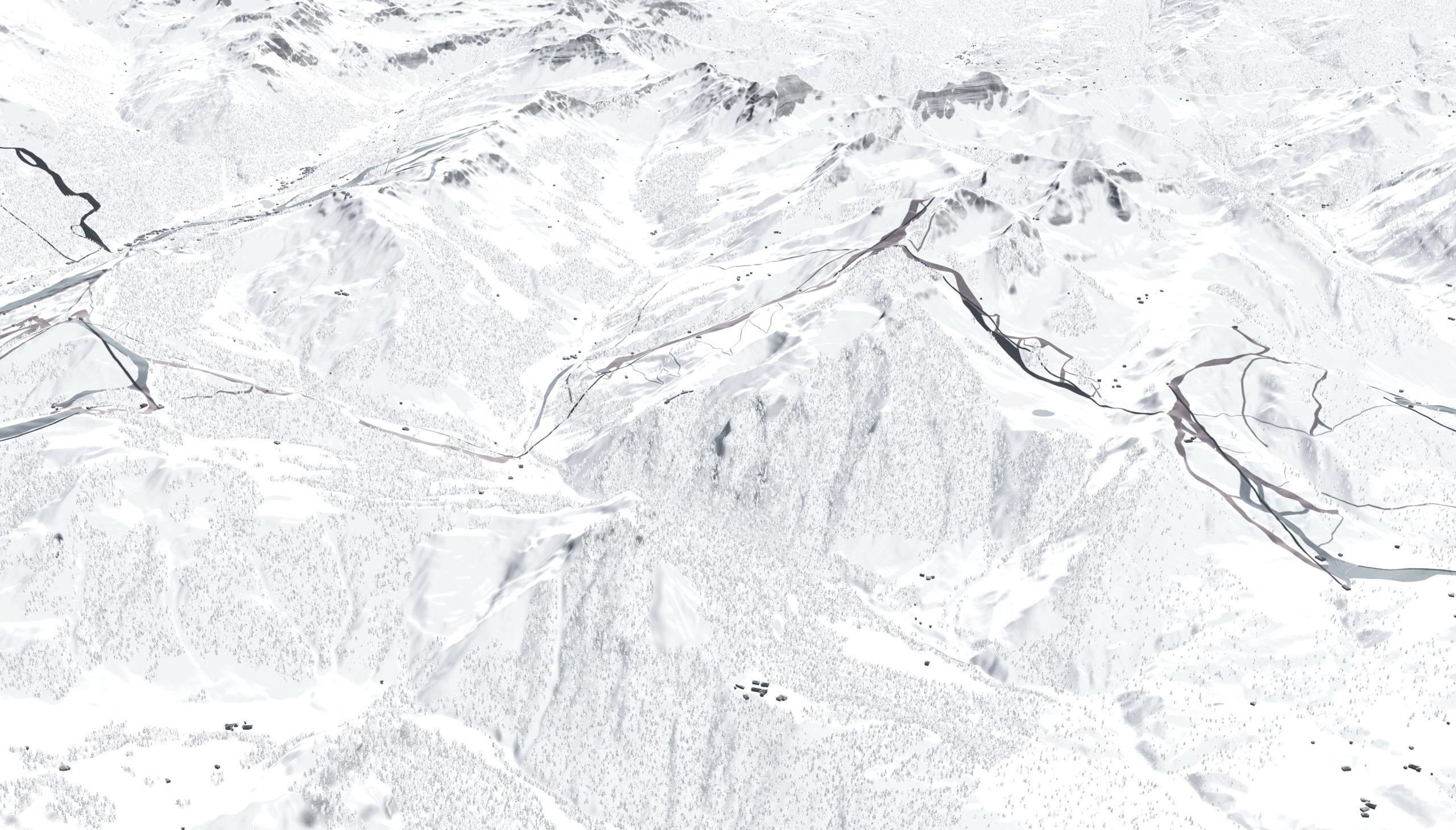 Saalbach Hinterglemm Leogang Fieberbrunn Zone E Reckmoos 3D Panoramabearbeitung Filter