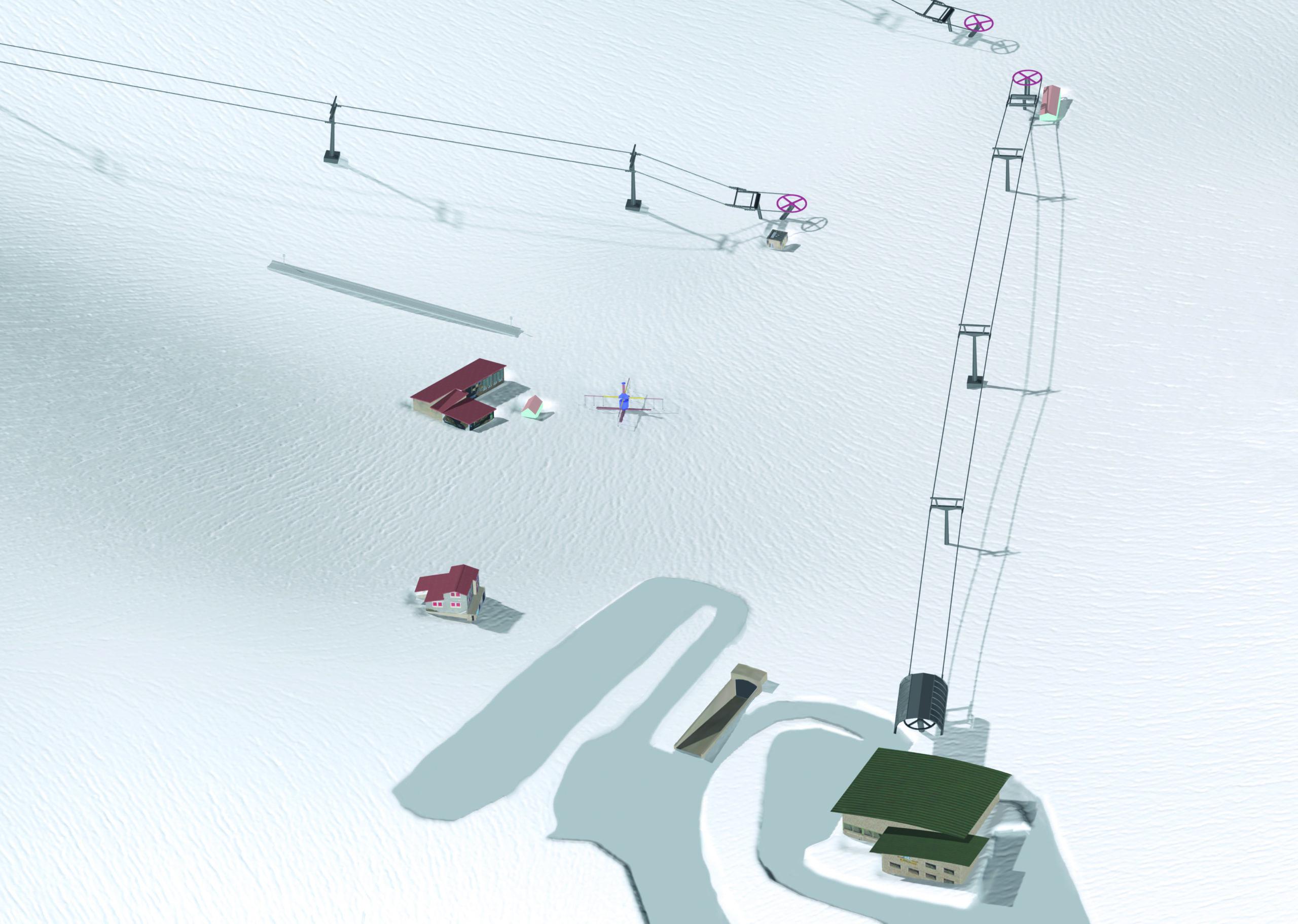 3D Pistenplan und Panoramakarte
