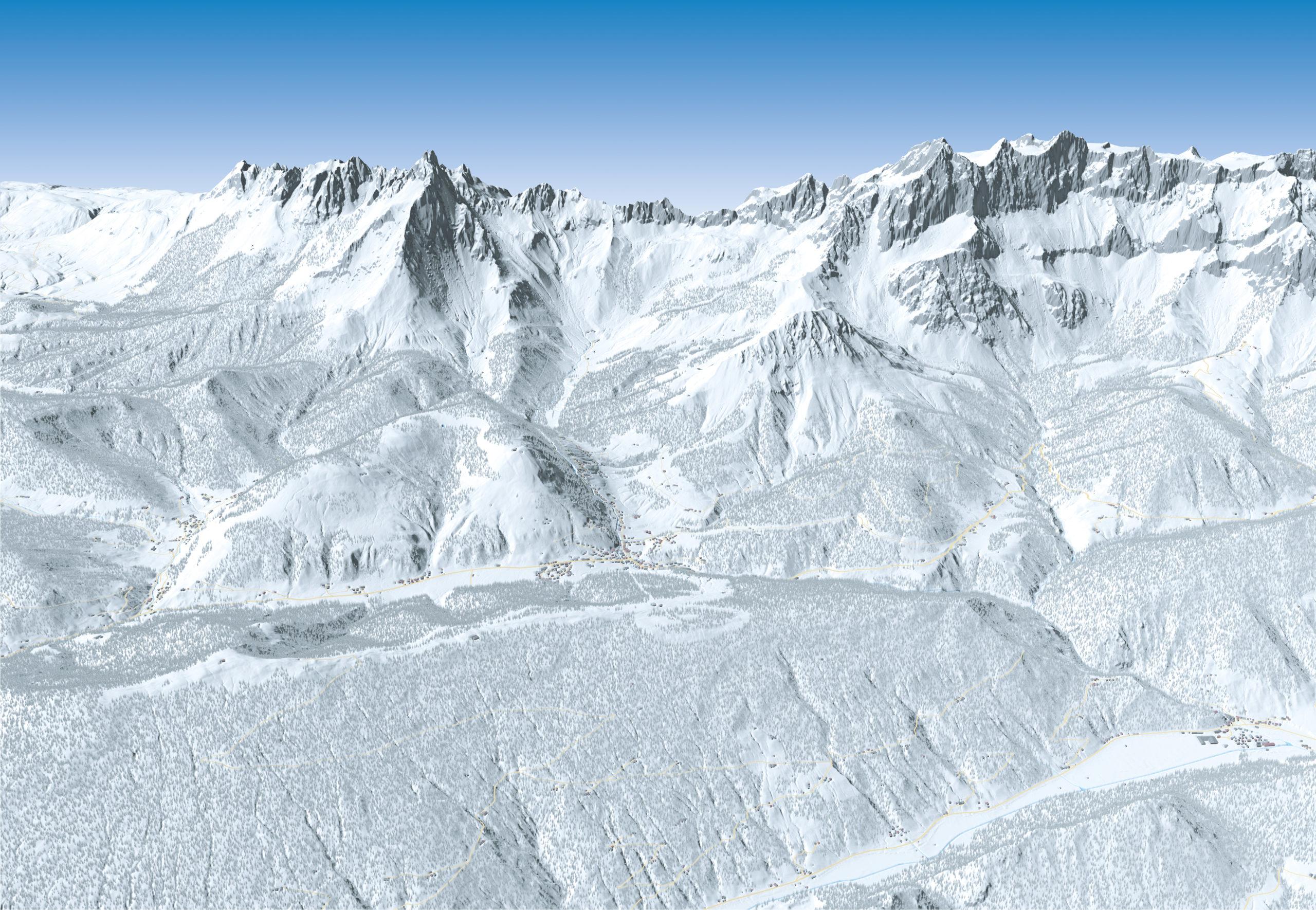 3D Panoramakarte - TVB Filzmoos