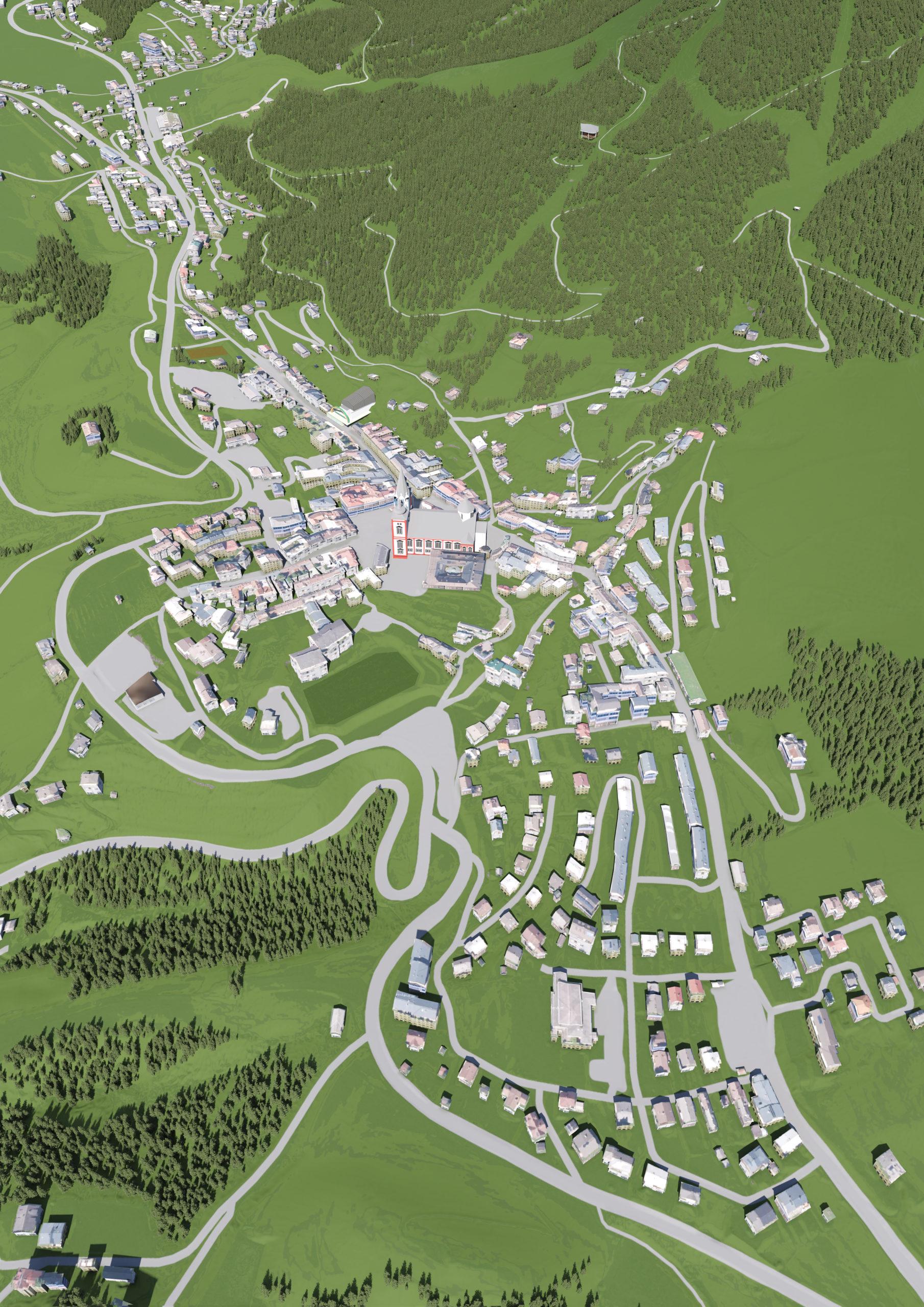 Mariazell Zentrum - Ortsplan